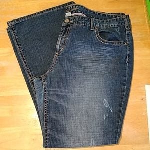 GUC 24 LONG MAURICES JEANS LIGHTLY DISTRESSED